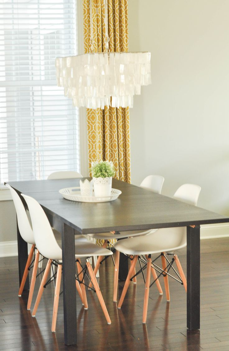 Eiffel chair living room - White Dining Chairs