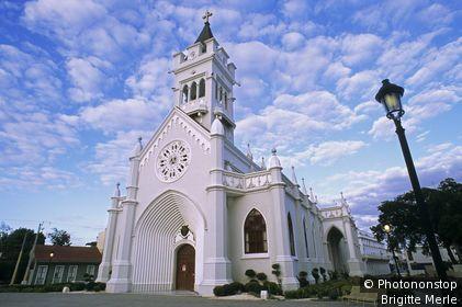 Dominican republic, san pedro de macoris - cathédrale San Pedro