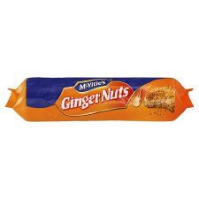 Mcvities Ginger Nuts 250G Tescos €1.90 Crunchy ginger biscuits