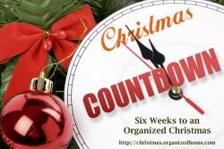 Ready for Christmas with the Christmas Countdown | Organized Christmas
