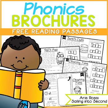 Phonics Reading Passages and BrochuresThese FREE phonics brochures are the perfect way to practice phonics skills! These no prep brochures are perfect for your literacy lessons. They can be used for reading comprehension, fluency practice, reading assessments, academic vocabulary practice, homework, close reads, and more!