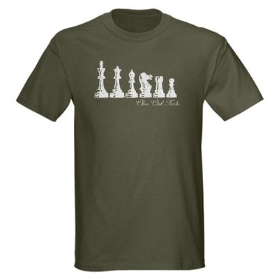 CHESS CLUB ROCKS remix'd Funny Dark T-Shirt by CafePress
