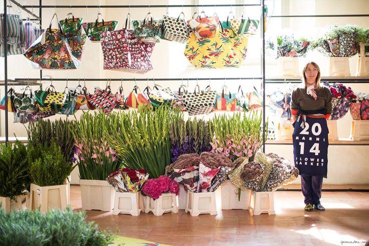 Marni Flower Market, Milan Fashion Week