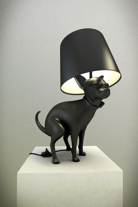 Pooping Dog lamp: Lights, Modern Art, Puppies, The Artists, Dogs Lovers, Floors Lamps, Tables Lamps, Poop Dogs, Dogs Lamps