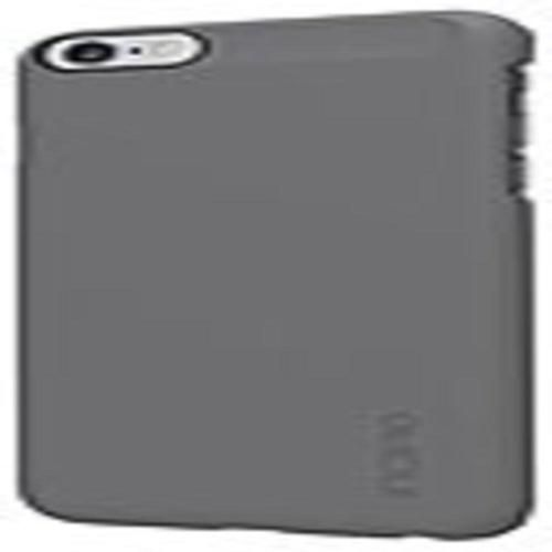 Incipio IPH-1193-GRY Feather Ultra Thin Snap-On Case - For iPhone 6 Plus - Gray - Plextonium, Polycarbonate, Ethylene Vinyl Acetate (EVA) - IPH-1193-GRY