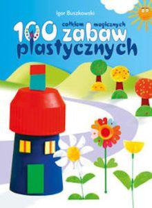 Książka jest zbiorem 100 pomysłów na to, jak przy pomocy rzeczy, które znajdą się w każdym domu można stworzyć coś, co może zainspirować do wielogodzinnych zabaw. Prace plastyczne uporządkowane są w 10 grup, co znacznie ułatwia znalezienie tej, którą możemy wykonać w danej chwili. W książce zaprezentowano pomysły na wykorzystanie zużytych butelek plastikowych, drucików kreatywnych, płatków kosmetycznych, waty i patyczków higienicznych, patyczków po lodach, guzików, balonów, nakrętek od…