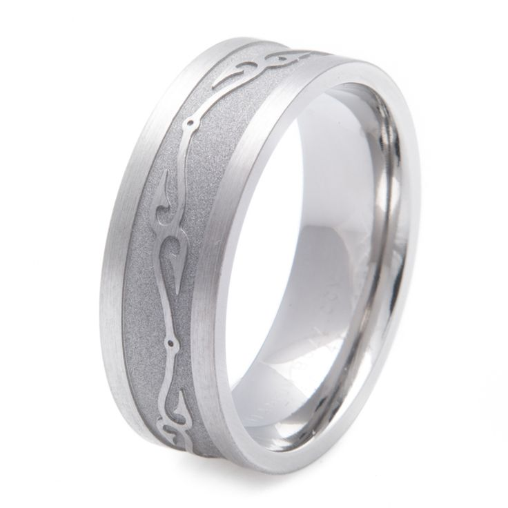 27 best fishing rings images on pinterest fishing peach for Fish hook wedding band