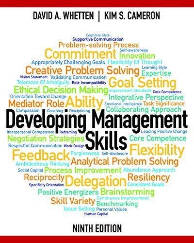 Developing Management Skills Plus MyManagementLab With Pearson EText Access Card Package 9th Edition