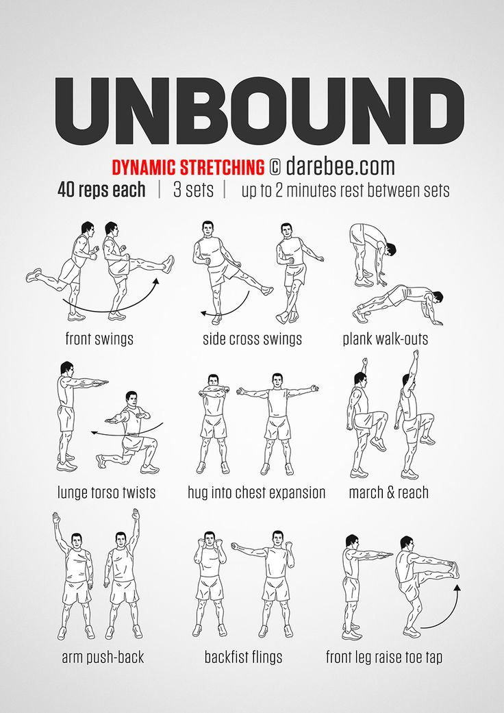 Unbound Workout: Dynamic Stretching