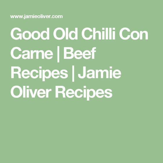 Image result for jamie oliver chilli con carne recipe