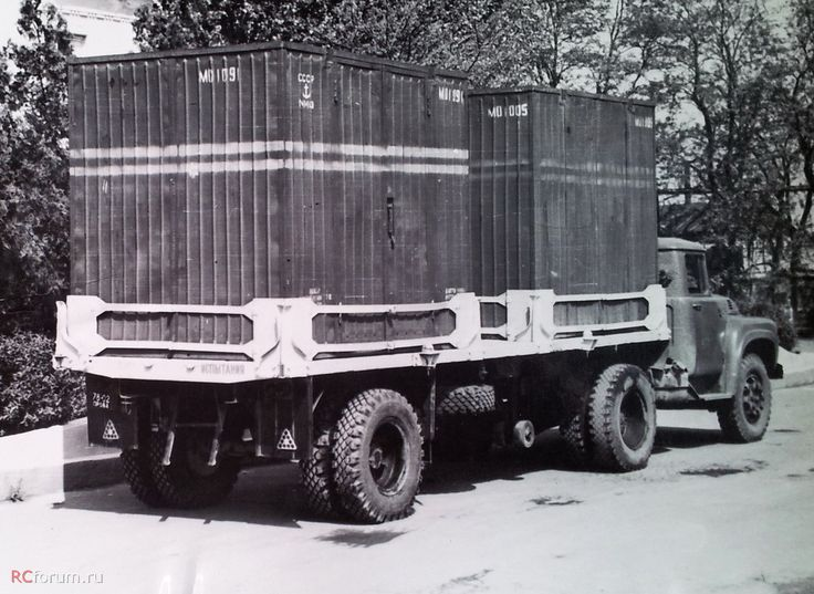 53 полуприцепе ОдАЗ-885К (контейнеровоз)