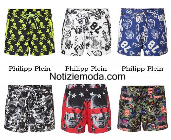 Boardshorts Philipp Plein primavera estate 2016 costumi uomo