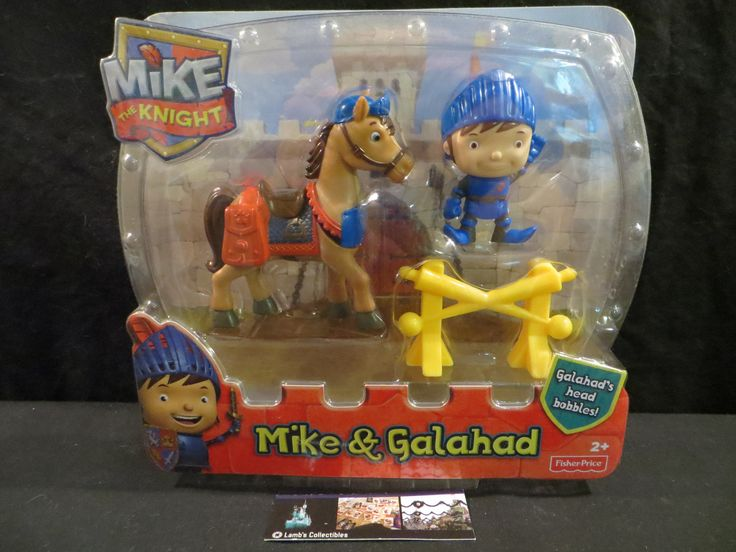 Mike the Knight Mike & Galahad Fisher Price Fisher-Price