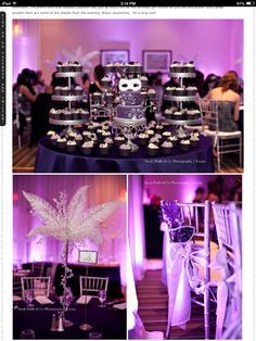 purple sweet 16 decorations - Google Search