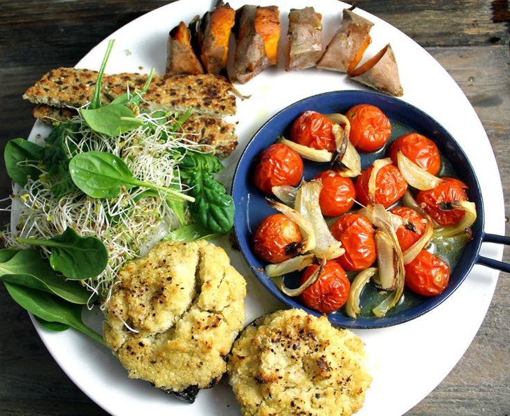 Veganmisjonen: Portobello med kremet blomkålmos