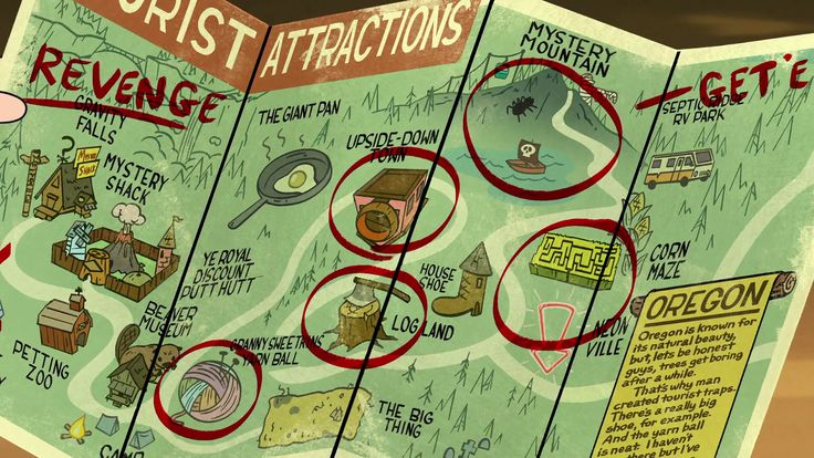 Roadside Attraction - Gravity Falls Brasil