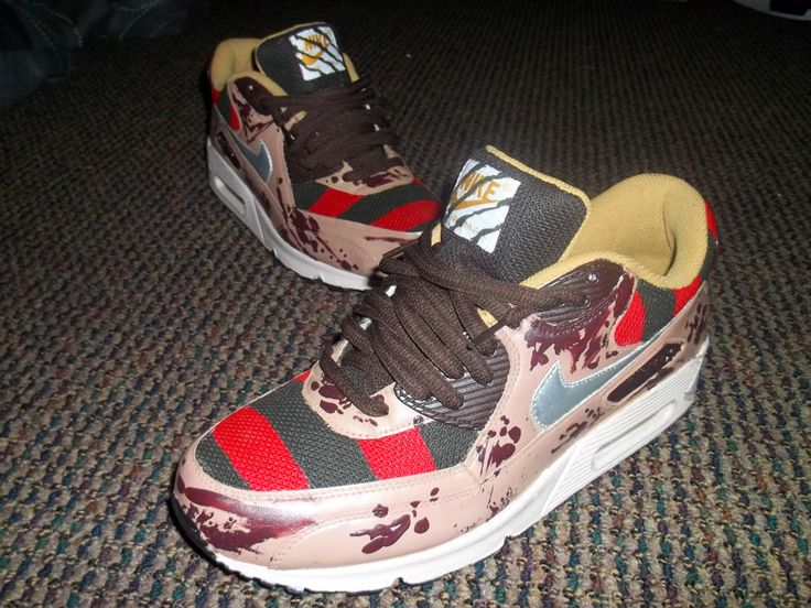 ... nike air max 90 freddy krueger for sale ... 98d446e61647