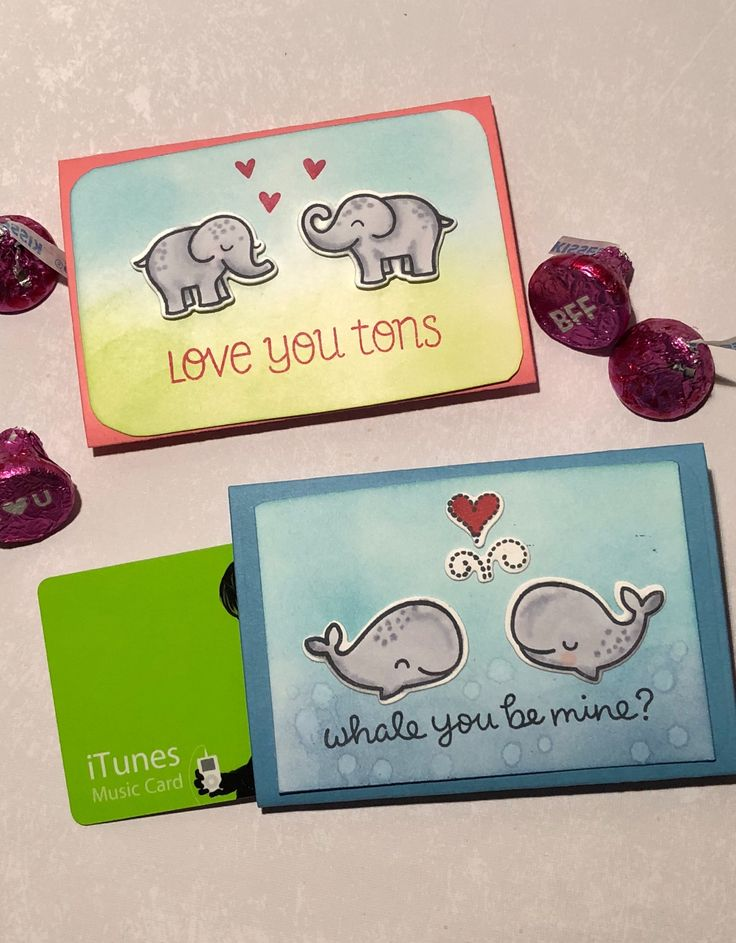 Valentine's Day Lawn Fawn gift card holders. This is for Day 5 of the Daily Marker 30 day coloring challenge.