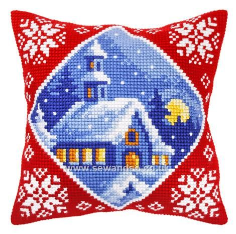 Shop online for Church in Winter Cushion Front Chunky Cross Stitch Kit at sewandso.co.uk. Browse our great range of cross stitch and needlecraft products, in stock, with great prices and fast delivery.
