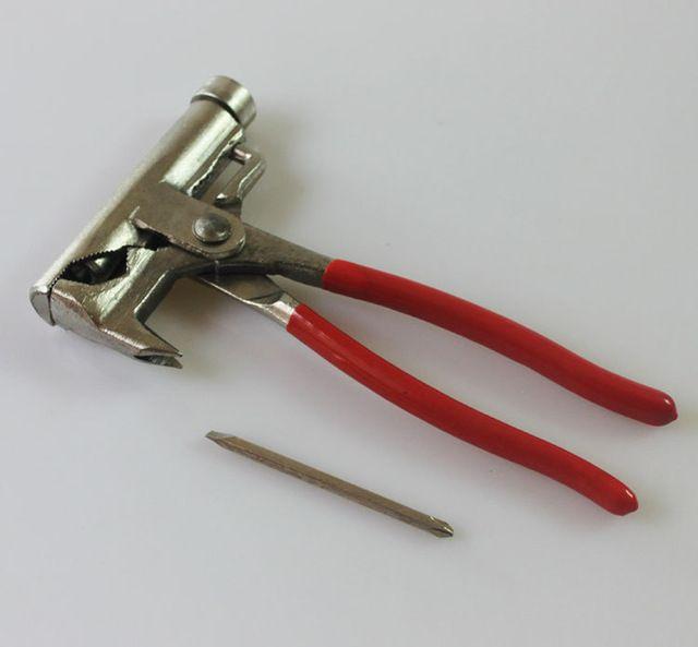 Qualidade Multi-função Universal Tubulação Grampos Pinças Carpintaria Alicate Chave Martelo Chave De Fenda Pistola de Pregos Elétrica Fitter 20 CM