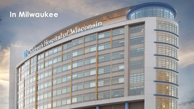 Children's Hospital of Wisconsin is reaching out to Wisconsin kids and their families through services at more than 40 locations throughout our state. In addition to our hospitals in Milwaukee and Neenah, our doctors see kids at 25 specialty care clinics. We also offer primary care and urgent care in southeast Wisconsin. And you can take comfort in knowing we provide the same standard of care at all our locations.