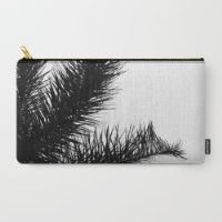 The Palm Project Carry-All Pouch by CoKiCu  NOW AVAILABLE at @society6   #palm #palmtree #travel #accessories #gift #birthdaygift #balckandwhite #back #white #wishlist #trend #2016 #trend2016 #summer #spring
