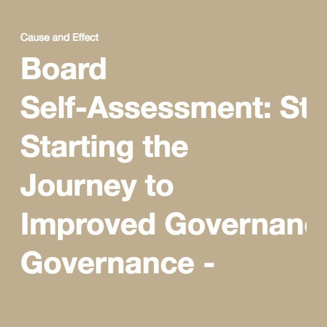 40 best Board Self-Assessment images on Pinterest Assessment - leadership self assessment