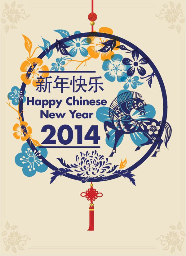Chinese New Year 2014 by James Chung, via Behance Chinese New Year, starts Jan 31, 2014 using the Lunar calendar http://patricialee.me