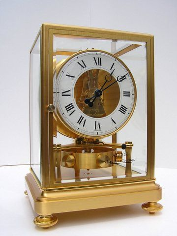 Antique Clock Repair and Restoration, specializing in Atmos clocks from the Swiss Clockmaker Jaeger-LeCoultre.