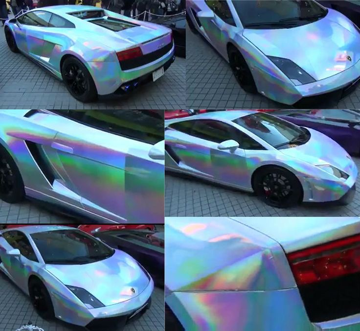 Chrome Cars, Car Paint