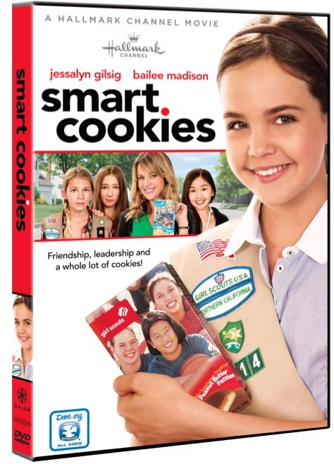 Smart cookies Girl Scouts movie - this would be a good resource for the girls to see cookie selling in action.