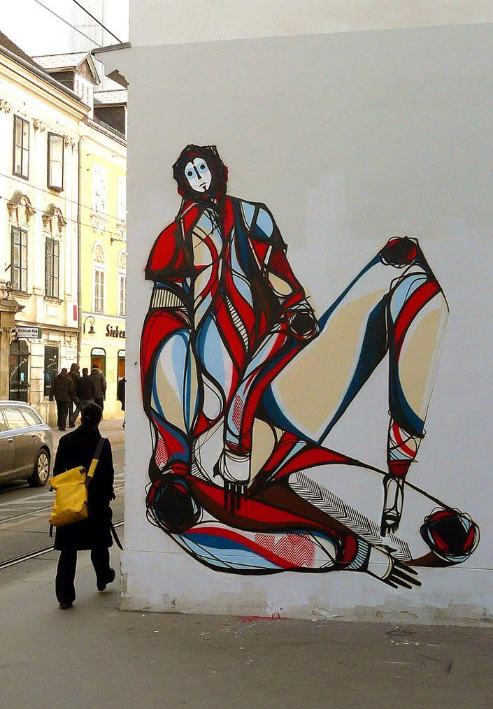Street Art by Amose & Erone