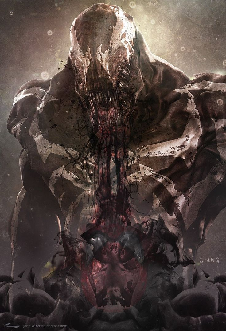 Marvel Comic Book Artwork • Venom by John Giang. Follow us for more awesome comic art, or check out our online store www.7ate9comics.com