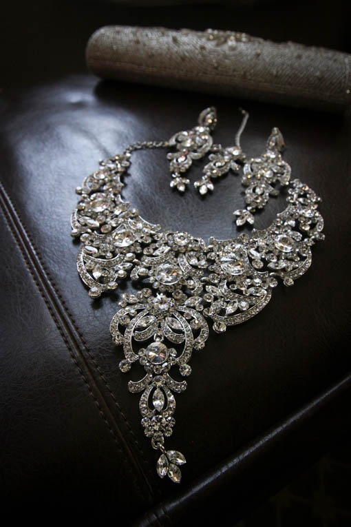 ooo diamonds! Indian wedding jewelry ,  Go To www.likegossip.com to get more Gossip News!