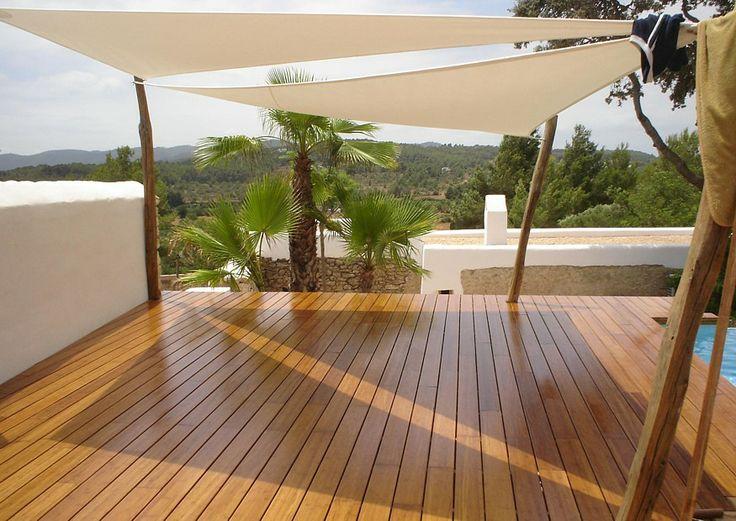 Bambus Terrasse Terrassenbelag, Bambsdielen als Alternative zu Terrassenholz und Hartholz