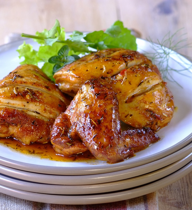 Spicy Roast Chicken in a KNORR Cook-in-Bag... deliciously easy! #dinner #recipes