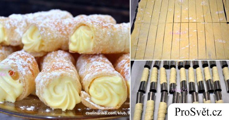 Starý recept na trubičky s vanilkovým krémem: Pokud se naučíte tento recept od mé babičky, už si je v obchodě nikdy nekoupíte | ProSvět.cz