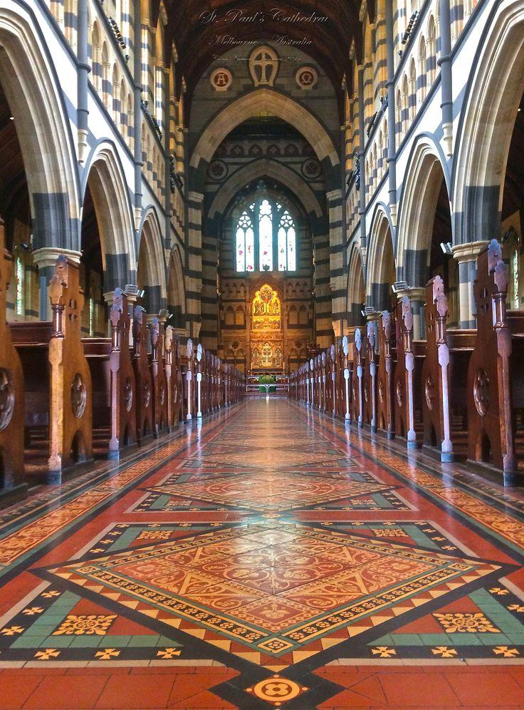 St. Paul's Cathedral, Melbourne, Australia