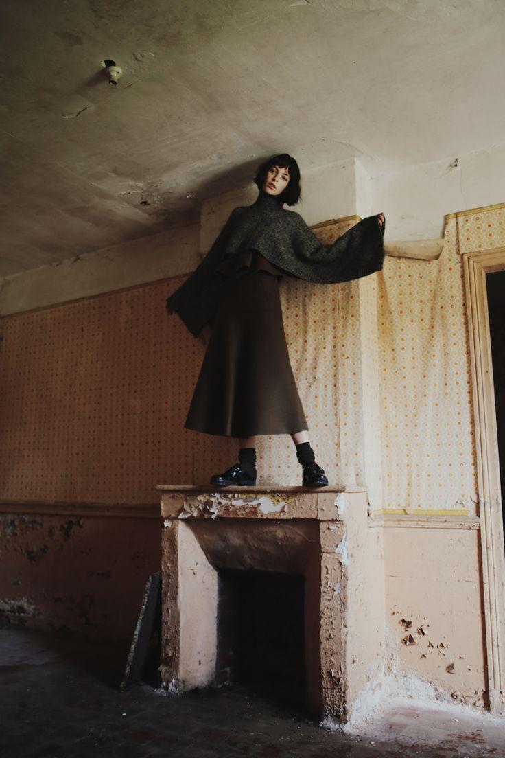 Grey Magazine Fall 2014 Vittoria Ceretti Fanny Latour-Lambert (20)