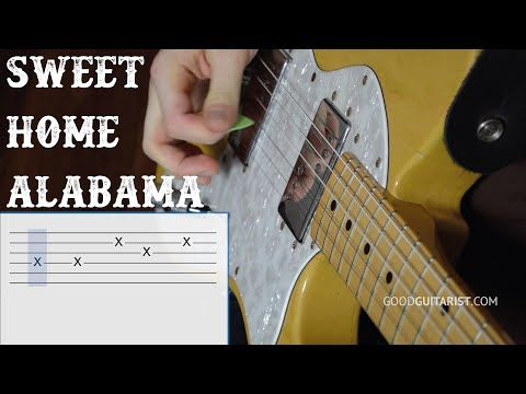 Sweet Home Alabama by Lynyrd Skynyrd - Easy Beginners How To Play Guitar Lessons - YouTube