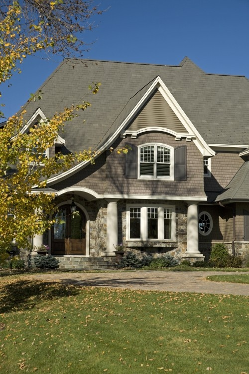 Traditional Exterior Great Room Design, Pictures, Remodel, Decor And Ideas    Page 203