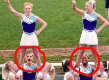 EXTREMELY PERFECT CHEERLEADER OOPS PICS