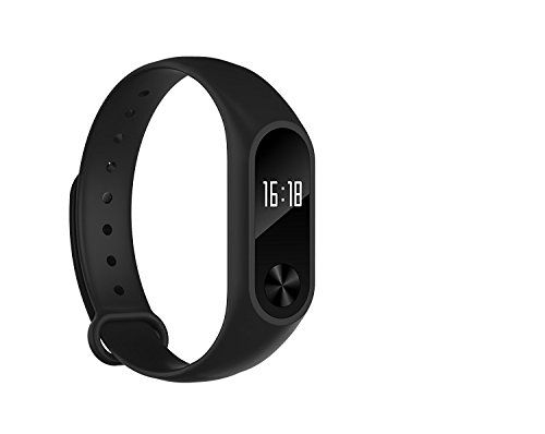 Antech Wristband Bracelet With OLED Display Smart Heart Rate Fitness Monitor Tracker Bluetooth 40 Pedometer IP67 Waterproof * You can find more details by visiting the image link.