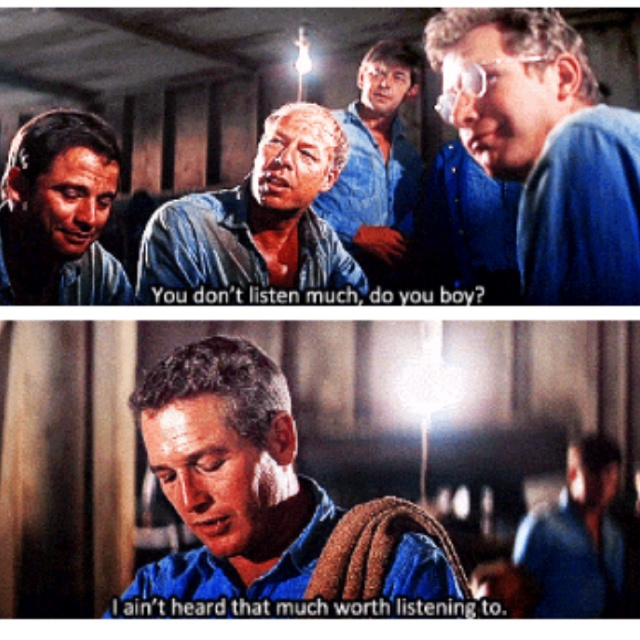 Cool Hand Luke - Paul Newman Always a favourite... :)