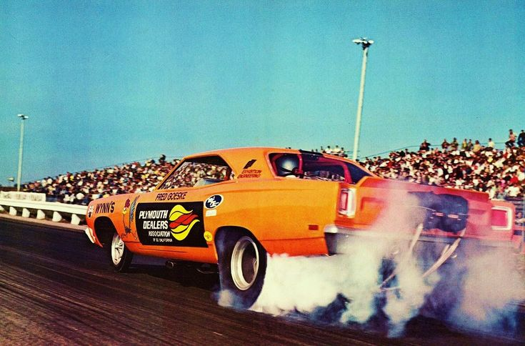 Fred Goeske Plymouth Roadrunner funny car