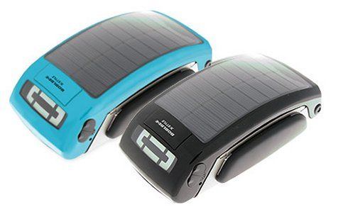 Boblbee solar powered, waterproof ipod dock and charger