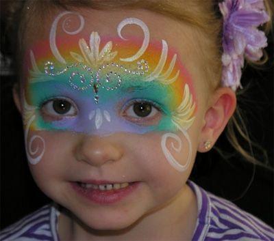 Trucco del viso per Carnevale per bambini da Fata n.3