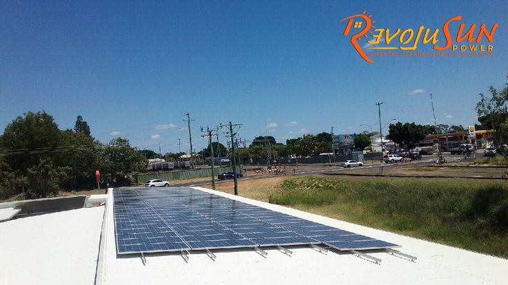 Our recent commercial #Solar installation in Regional Queensland. We installed 35kW PV system with a Superior-Quality Delta Inverter.  Business: Route 66 Motor inn, Emerald  Industry: Accommodation & Hospitality  Solar power system-capacity: 35 kW Energy output per year: over 55,000 kW CO2 Equivalent reduction: 160 Trees  CO2-e Abatement per year: Over 40 tonnes #GoSolar #RevoluSunPower
