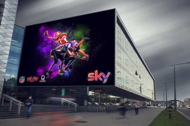 Sky Sport - Digital Art & Sponsor - Banner Outdoor