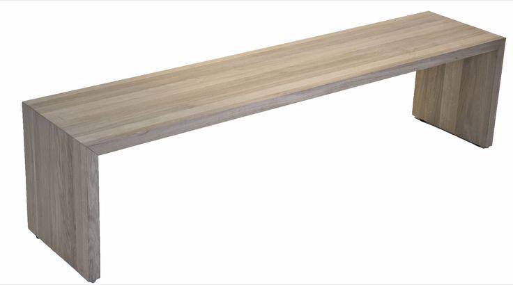 Bord : Stubbe benk/sofabord 180